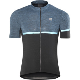 Sportful Giara Jersey Men blue denim/black/blue